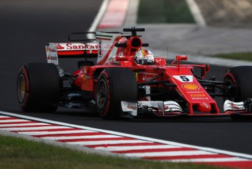 Fórmula 1: Vettel consigue la pole y Ferrari un doblete
