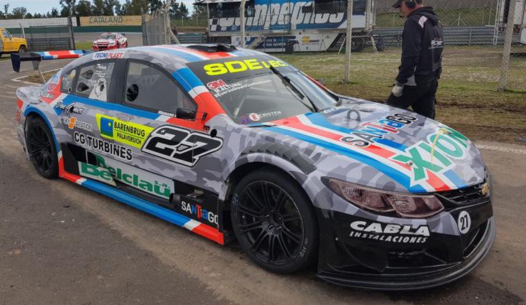 TRV6: Altuna fue el más rápido en Rosario