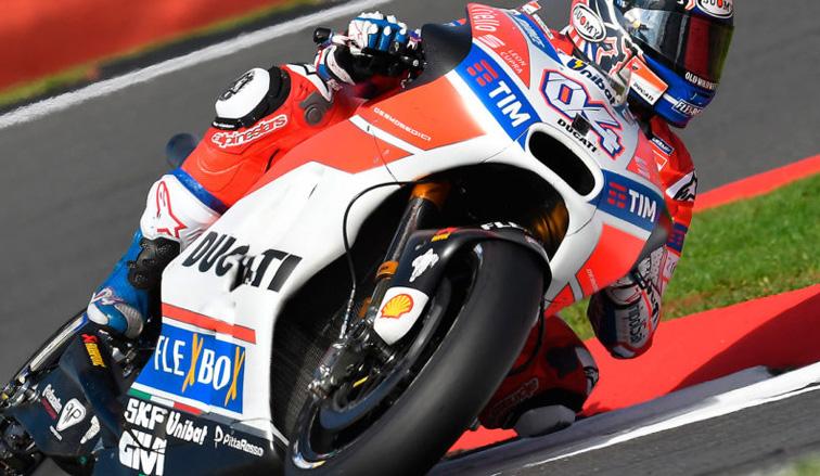 MotoGP: Andrea Dovizioso gana en Silverstone y da un vuelco al campeonato