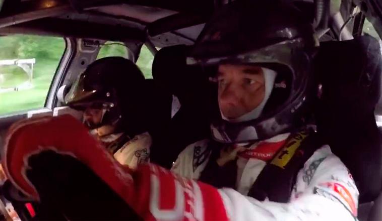 WRC: Loeb prueba por primera vez el Citroën C3 WRC de 2017