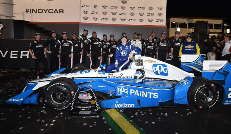 Indy Car: Newgarden vence a Pagenaud en Gateway
