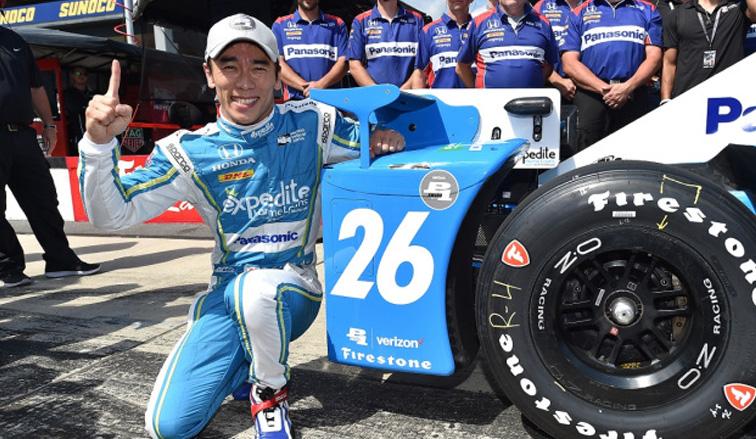 Indy Car: Takuma Sato logra su segunda pole del año