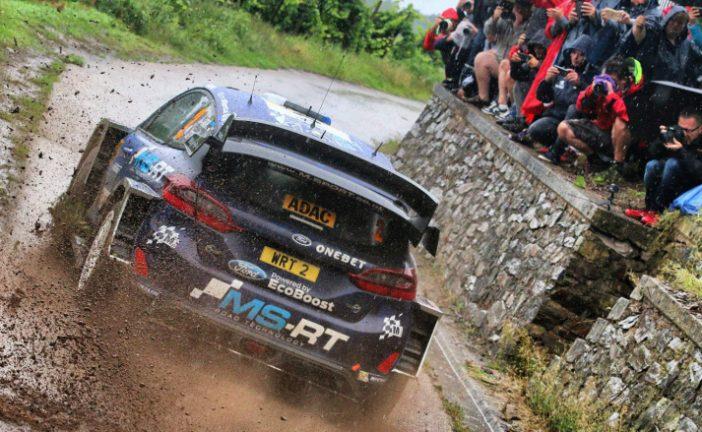 WRC: Tänak se quedó con el viernes