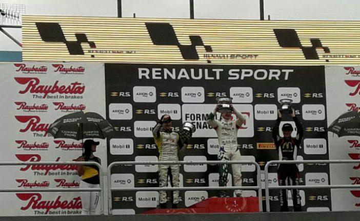 FRA 2.0: Lugón triunfó en la primera carrera