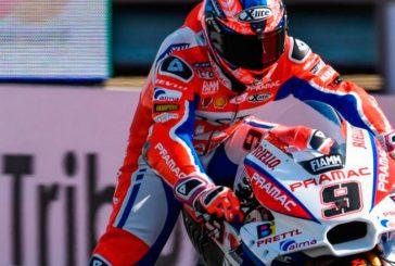 MotoGP: Petrucci se destaca en Misano