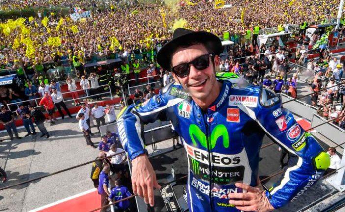 MotoGP: Sorprendentemente Rossi ya giró sobre una moto