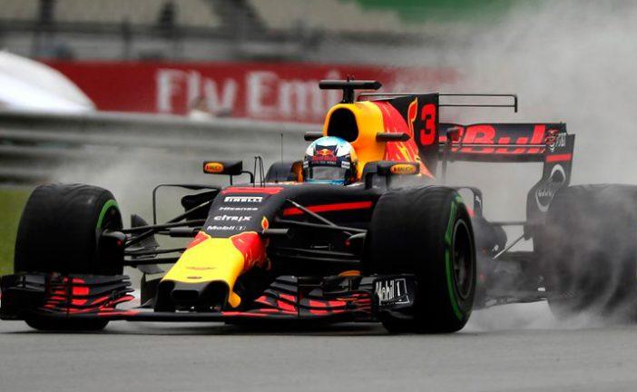 Fórmula 1: Red Bull marca el ritmo bajo la lluvia en los Libres1