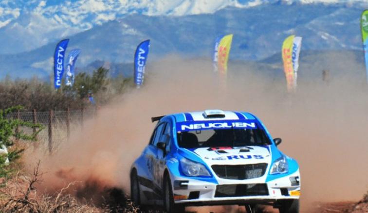 Rally Argentino: Cancio rompió el hielo en Malargüe