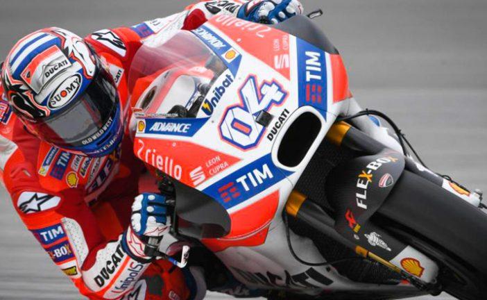 MotoGP: Un Dovizioso 'todoterreno' avisa en Sepang