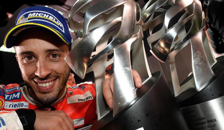 MotoGP: Dovizioso y Ducati mantienen vivo el Mundial