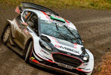 WRC: Evans toma el mando en Gales