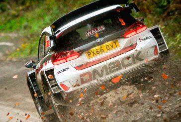 WRC: Evans gana el Shakedown de Gales