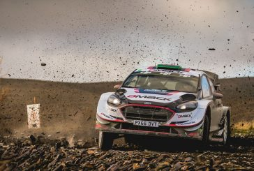 WRC: Evans sigue intratable