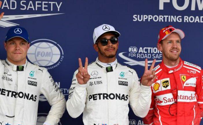 Fórmula 1: Hamilton no le da opción a Vettel y logra la pole