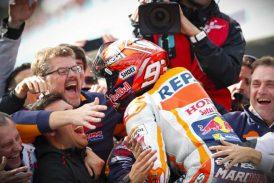 MotoGP: Un colosal Márquez se lleva un triunfo con sabor a título