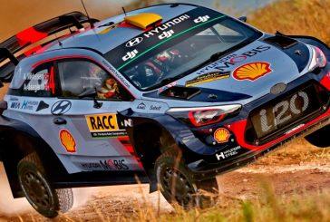 WRC: El viernes fué para Mikkelsen
