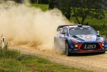 WRC: Neuville es líder, Mikkelsen abandona