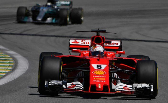 Fórmula 1: Vettel gana y Hamilton da cátedra