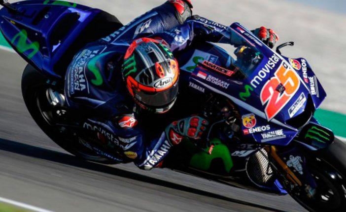 MotoGP: Viñales al frente en el primer dia de test