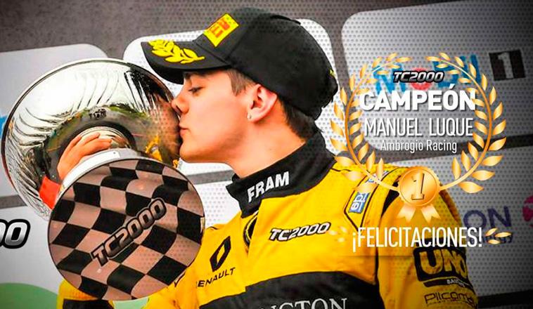 TC2000: Ganó Mariano Pernía y el título fué para Luque