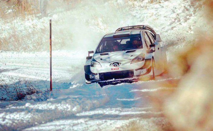 WRC: Tänak probó el Toyota