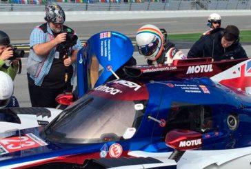 Daytona: Una bandera roja interrumpe el estreno de Alonso