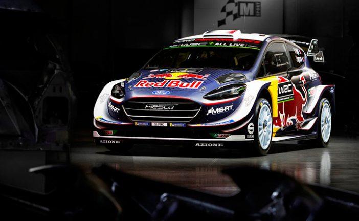 WRC: M-sport presentó el nuevo Ford Fiesta RS WRC 2018: nacido para ganar