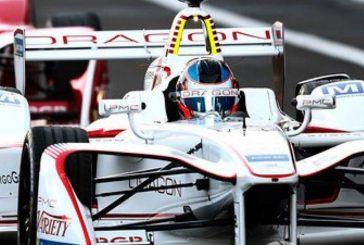 """Fórmula E: Gran performance de """"Pechito"""" con el Dragon"""