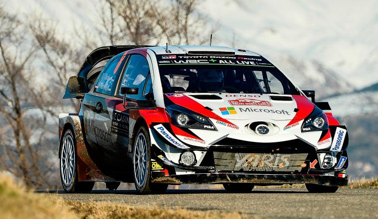WRC: Primer scratch de Tänak