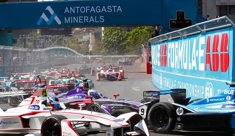 Fórmula E: Vergne gana en Chile mientras Pechito sufre retiro
