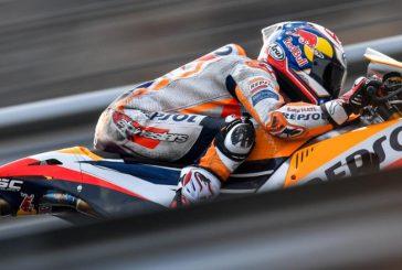 MotoGP: Pedrosa sorprende, Márquez se cae, Lorenzo y Yamaha siguen perdidos