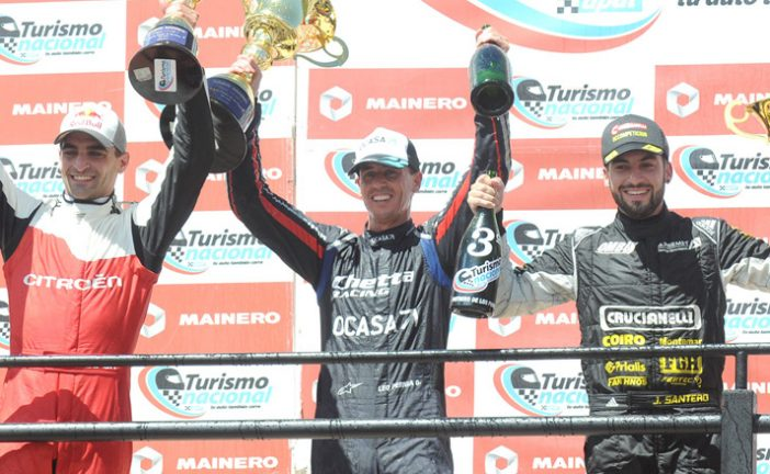 TN C3: Pernía ganó una vibrante carrera en San Luis