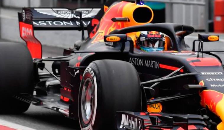 Fórmula 1: Ricciardo dominó el primer día en Montmeló