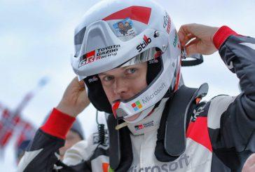 WRC: Tänak lidera en la nieve de Suecia