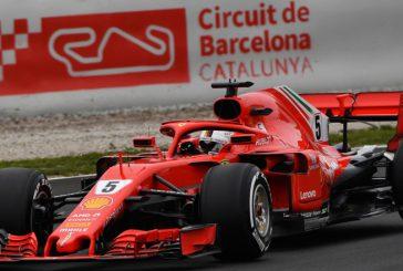 Fórmula 1: Vettel aprovechó la segunda sesión de test