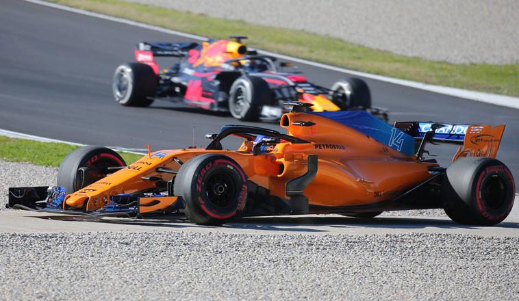 Fórmula 1: Dominio total de Ricciardo, otra vez una falla en McLaren