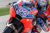MotoGP: Dovizioso y Rossi dominan la FP1 de Qatar