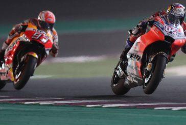 MotoGP: Dovizioso se quedó con una tremenda carrera en Qatar