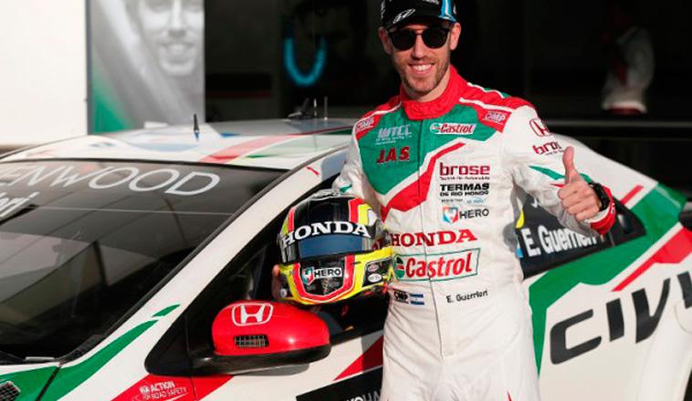 WTCR: Esteban Guerrieri probó en el circuito holandés de Zanvoort