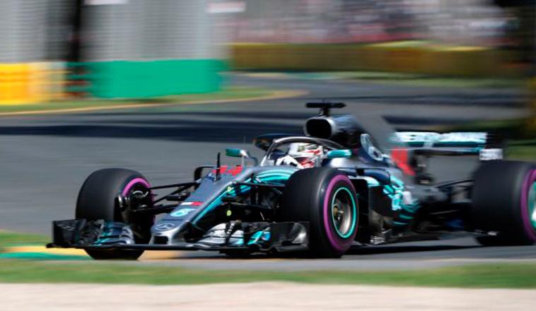 Fórmula 1: Hamilton domina en Australia
