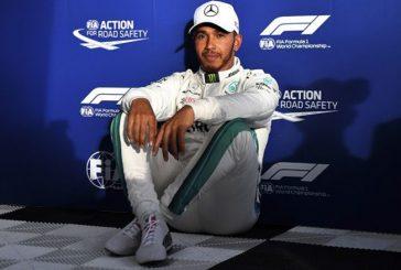 Fórmula 1: Hamilton pulveriza los tiempos y se lleva la pole