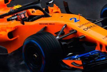 Fórmula 1: Vandoorne y McLaren lideran la mañana del 4º día de test