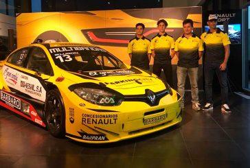 TC2000: Anoche se presentó el equipo Renault