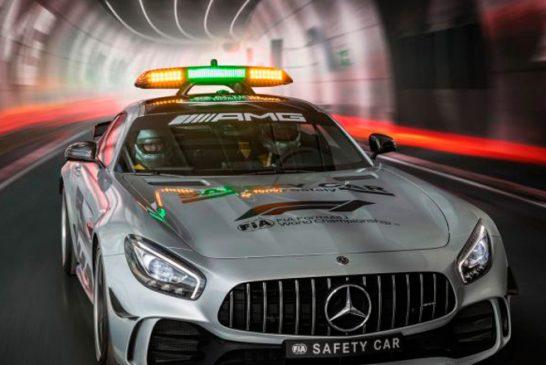 Fórmula 1: Así es el nuevo Mercedes-AMG GT R Safety Car: 585 CV de pura seguridad