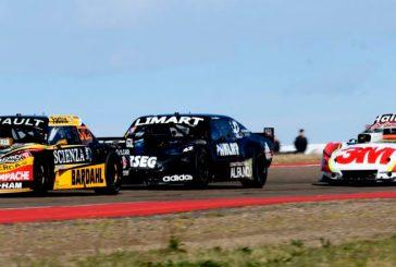 TC: La carrera de Neuquén será con cambio de 2 neumáticos