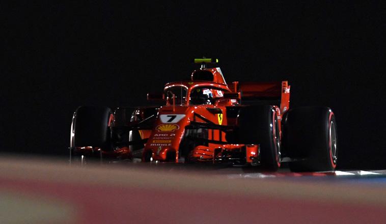 Fórmula 1: Ferrari mete miedo en la noche de Bahréin
