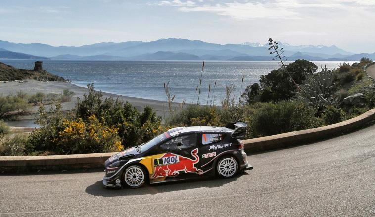 WRC: Ogier lidera con comodidad