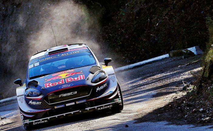 WRC: Ogier lidera el viernes