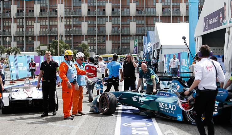 """Fórmula E: """"Pechito"""" no pudo clasificar"""