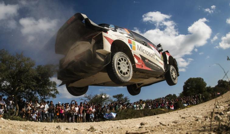 WRC: Tänak sigue imparable en Córdoba